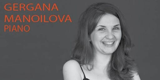 Gergana Manoilova PhD Recital