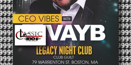 Vayb Live on Stage @ Club Guilt tickets