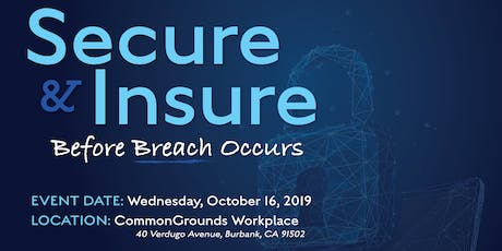Secure and Insure Before Breach Occurs tickets
