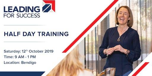 Leading for Success Workshop- Bendigo