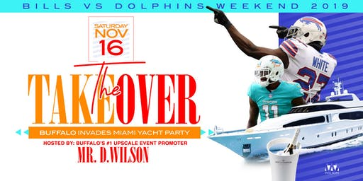 The Takeover: Buffalo Invades Miami Yacht Party