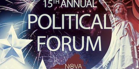 15th Annual Political Forum tickets