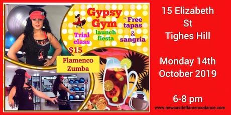 Gypsy Gym launch fiesta party tickets