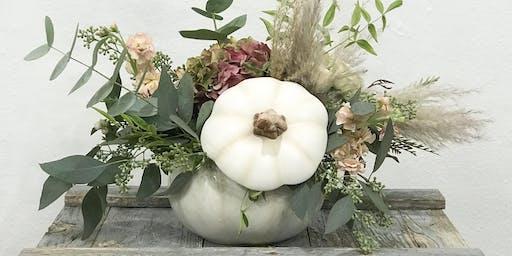 Flower Pumpkin Workshop