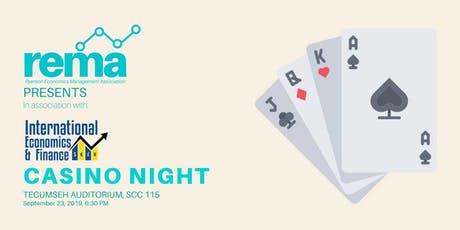 CASINO NIGHT - REMA x IEFCU tickets