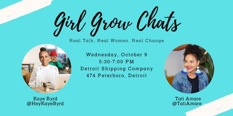 Girl Grow Chats tickets
