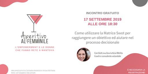 Aperitivo Al Femminile Mantova