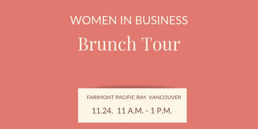 Women in Business Brunch Tour + Official Book Launch  |Vancouver