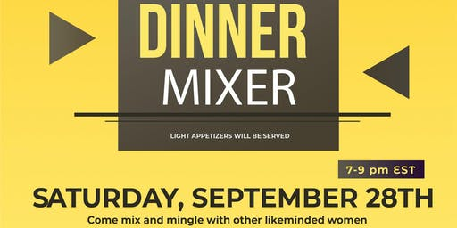 The Boss Mom Wife Club Dinner Mixer