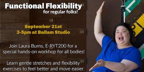 Functional Flexibility  Workshop tickets