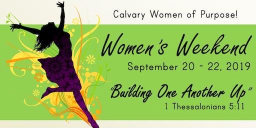 Calvary Women of Purpose Weekend - Bowling Night