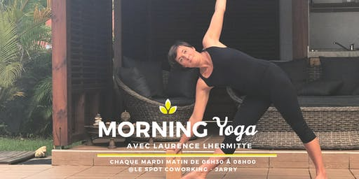 MORNING YOGA by Laurence LHERMITTE