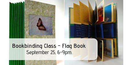 Bookbinding Class - Flag Book tickets