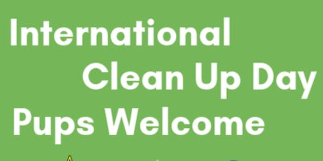 International Cleanup Day, Pups Welcome tickets