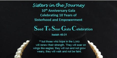 Sisters In The Journey 10th Anniversary Gala Fundraiser tickets