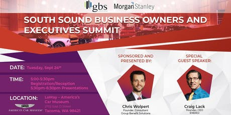 South Sound Business Owners and Executives Summit tickets