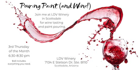 Pouring Paint (and Wine!) at LDV Winery tickets