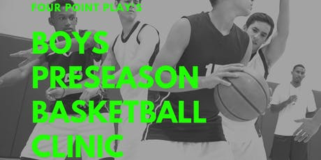 Pre-Season Basketball Clinic - Boys tickets