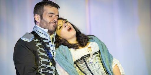 Giovanni Formisano and Olga Lisovskaya at High Street Concert Series