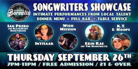 Songwriters Showcase: Intimate performances with local artists tickets