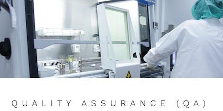 Quality Assurance (QA) – El Rol del Profesional de Calidad en la Industria Biomédica (Online) tickets