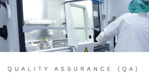 Quality Assurance (QA) – El Rol del Profesional de Calidad en la Industria Biomédica (Online)