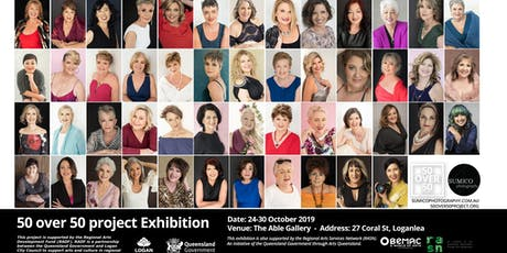 50 over 50 Project Exhibition Free Entry tickets