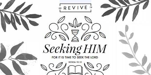 Revive 19'. Seeking Him. Simulcast