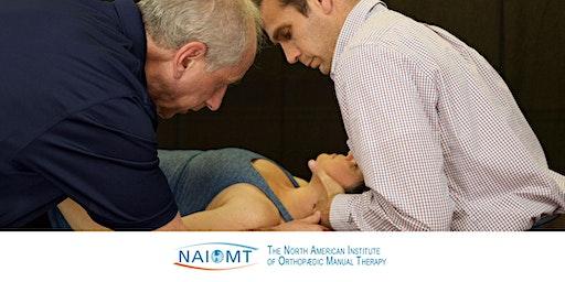 NAIOMT C-516 Cervical Spine I [San Diego]2020