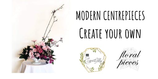 Modern Centrepieces: Create your own stunning & colourful floral piece
