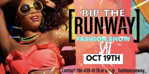 Fashion runway fashion show