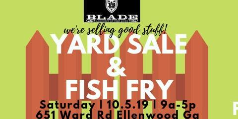 BLADE YARD SALE & FISH FRY