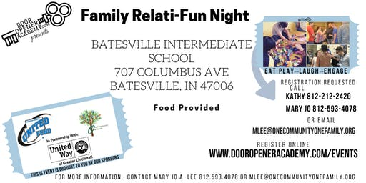Family Relati-Fun Night in Batesville with Skye Berger