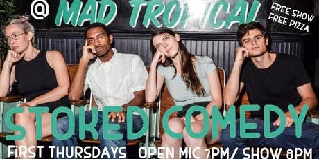 Stoked Comedy 10/3 tickets