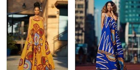 Ashanis African Print Sip and Shop! DMV  tickets