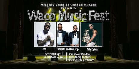 Zro, Starlito, Don Trip, Killa Kyleon and T!M Ned live - Waco music fest tickets