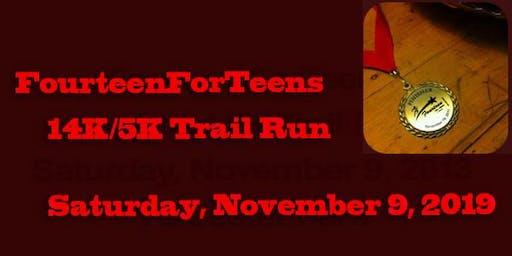 Fourteenforteens 14k and 5k Trail Run