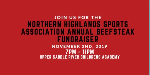 Fifth Annual Northern Highlands Sports Association Beefsteak Fundraiser