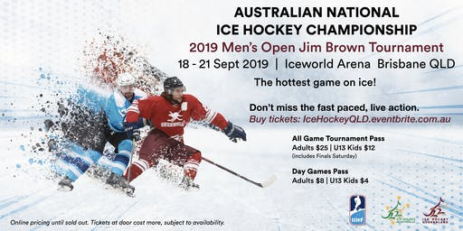 2019 AUSTRALIAN NATIONAL ICE HOCKEY TOURNAMENT - Jim Brown Championship