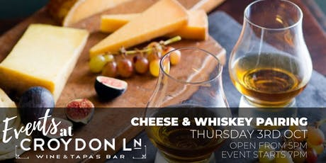 Cheese & Whiskey Pairing Event tickets