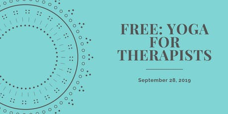 FREE: Yoga For Therapists tickets