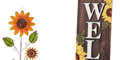 Welcome Fall Wood Sign Workshop Saturday October 5
