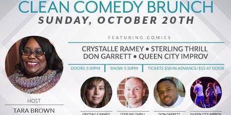 Tara Brown's Clean Comedy Brunch tickets