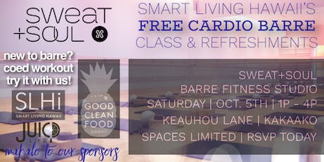 FREE SLHi Barre Class & Refreshments tickets