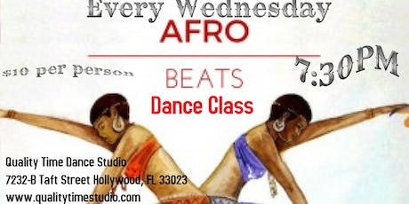 Afro Beats Dance Class tickets