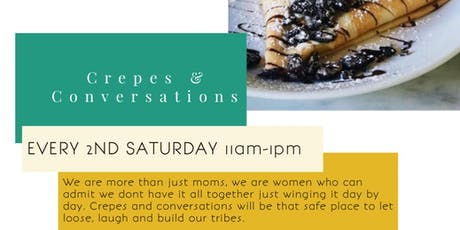 Crepes & Conversation tickets