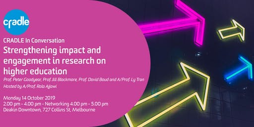 CRADLE In Conversation: Impact & Engagement in Higher Education Research