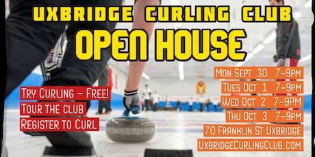 Uxbridge Curling Club Open House tickets