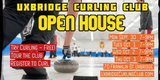 Uxbridge Curling Club Open House