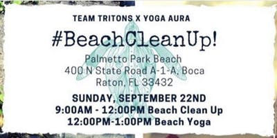 FREE YOGA BEACH CLEAN UP